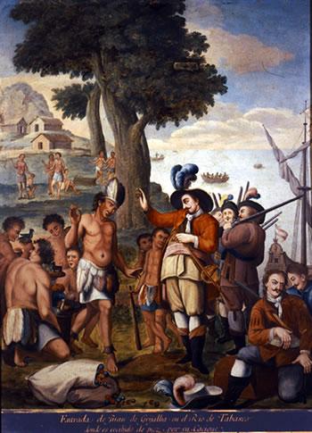 La expedición de Juan de Grijalba (1518) 6