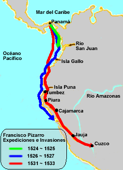 the documented travels of francisco pizarro Christopher columbus was born in 1951 in sydney, australia his home was on the sea and christopher longed to become an explorer and sailor however, as a young man, christopher went to.