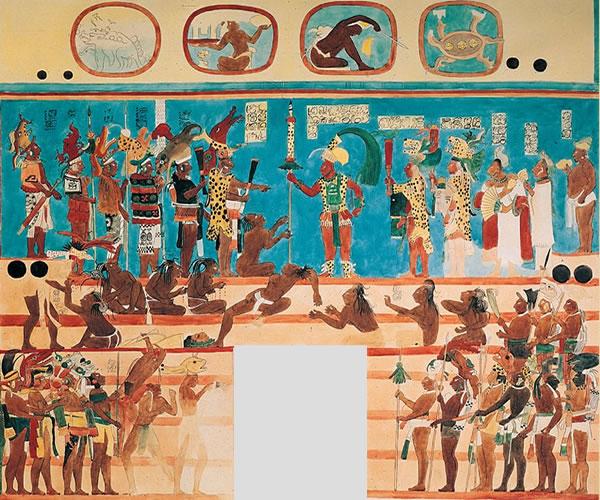 Bonampak murales for Bonampak mural painting