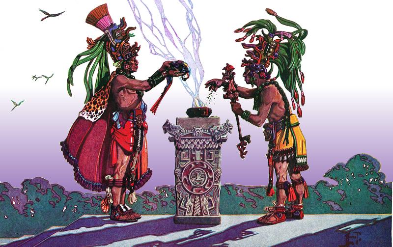 Resultado de imagen de Los sacerdotes Mayas
