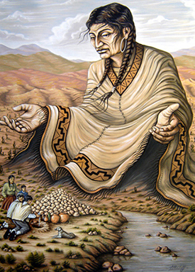 Resultado de imagen para MADRE TIERRA INCA