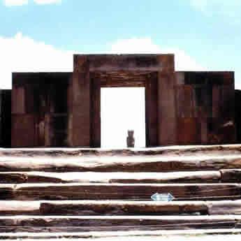 El Sitio De Tiwanaku Tiahuanaco Templo De Kalasasaya
