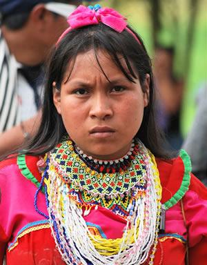 Chaquiras d'Embera